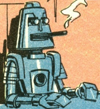Inter-Intel Chief from Mandrake Comics as representation of you while you are working remotely like Hojo did.